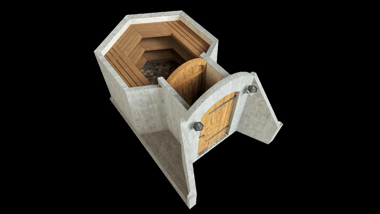 Kelder 4,5 m² STANDARDPAKETT