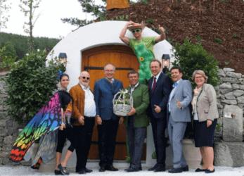 Erdkeller, Sauna und Gartenhaus