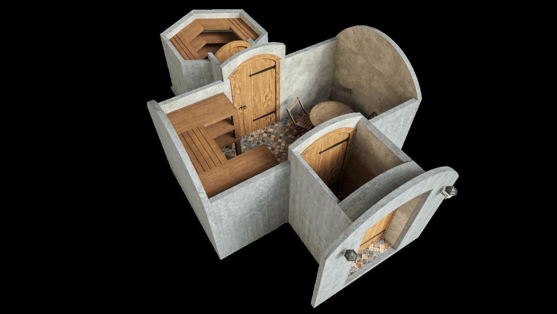 Kelder 16,2 m² STANDARDPAKETT