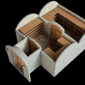wine cellar 21.4_m² by revonia